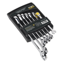 7pc Ratchet Combination Spanner Sets S01143